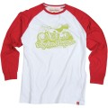 TROY LEE DESIGNS Tee Shirt HIGHWAY Manches Longues Blanc