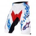 ALPINESTARS Short GRAVITY Blanc Bleu Rouge