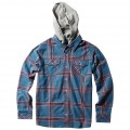 DC SHOES Chemise GAUNTLET Blue Ashes