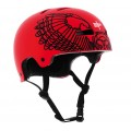 TSG Casque EVOLUTION ART DESIGN WINGS Rouge 2011