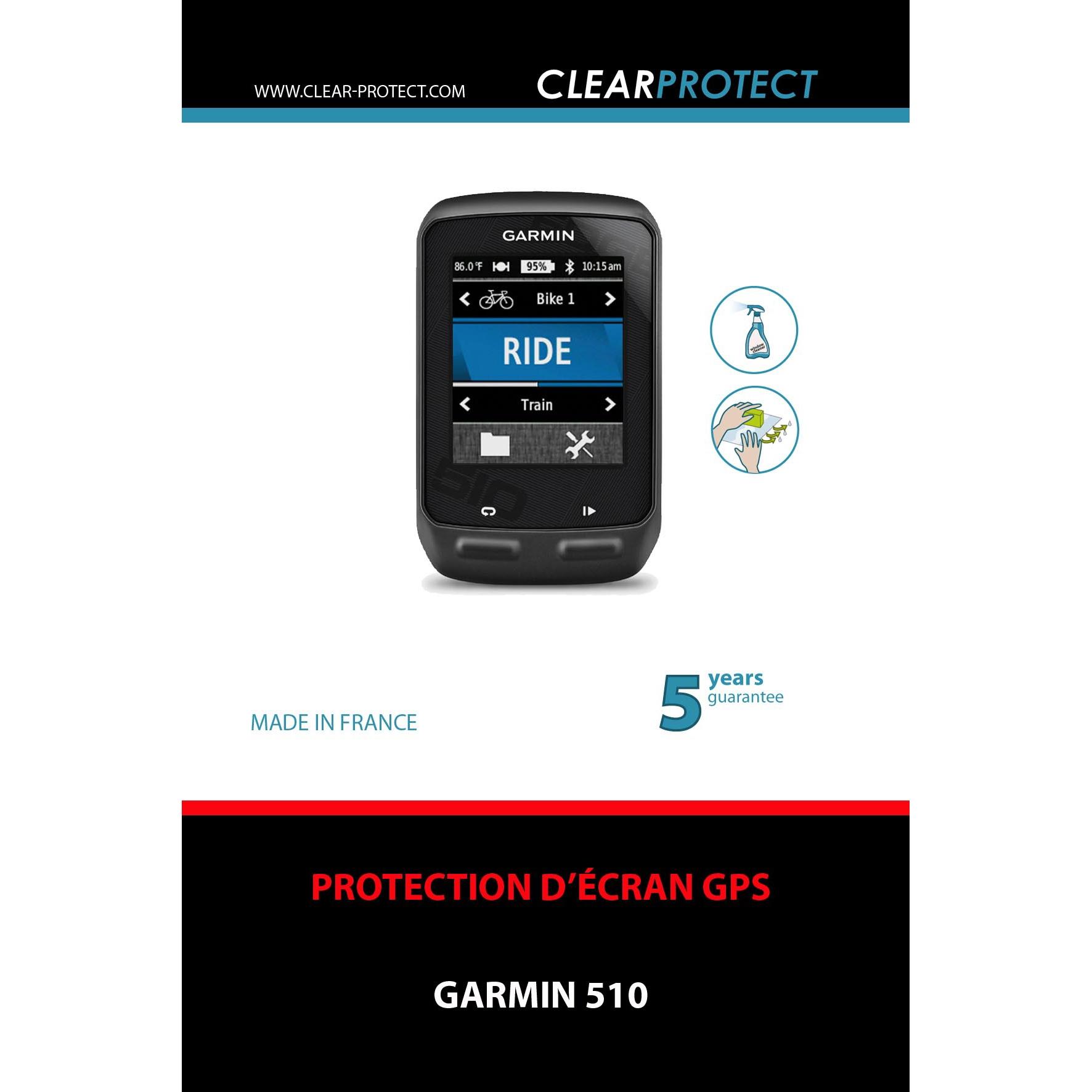 how to use garmin 510