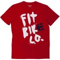 ETNIES T-Shirt FIT BIKE BEN LEWIS SS TEE Rouge