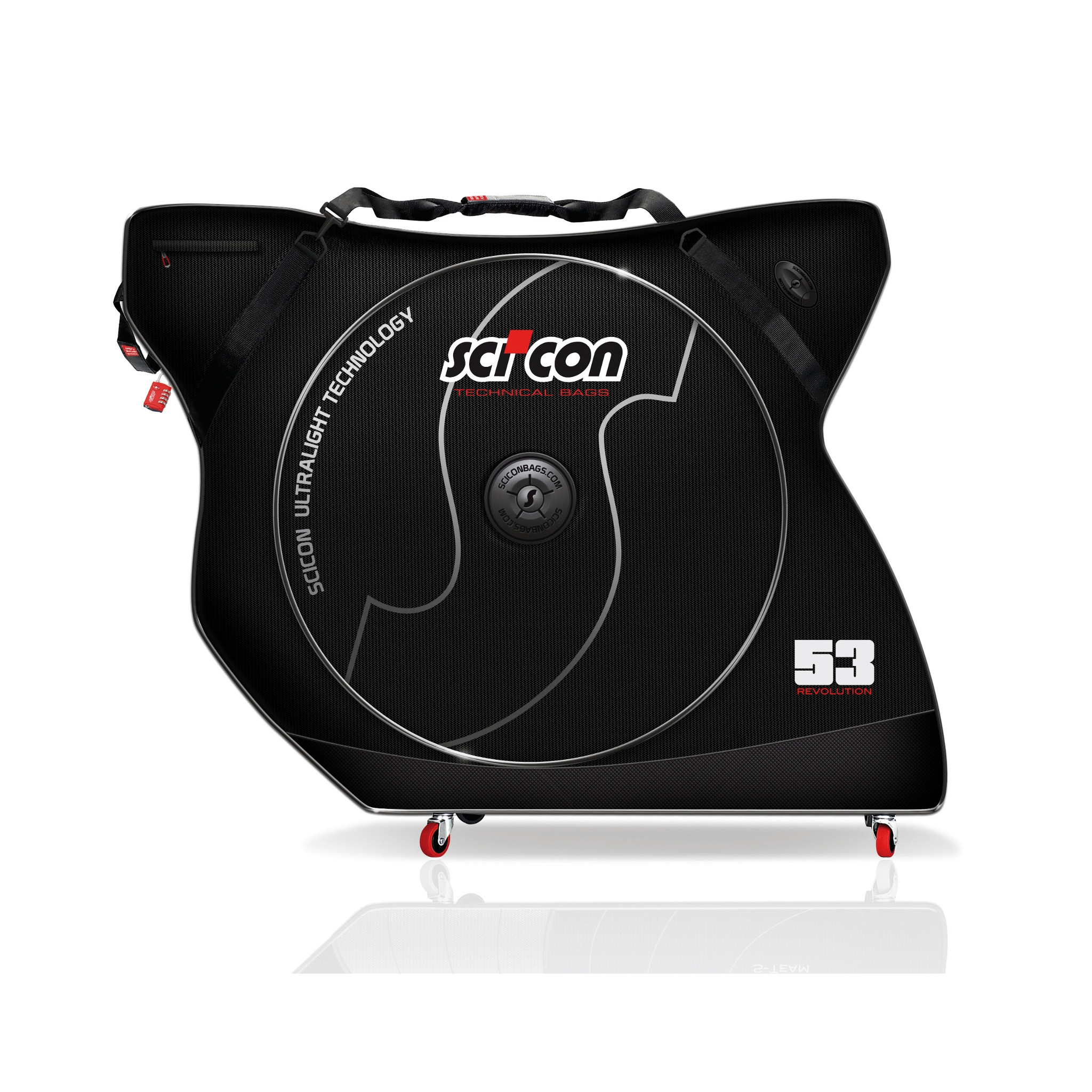 Housse de transport scicon aerocomfort 2 0 tsa probikeshop for Housse transport velo scicon
