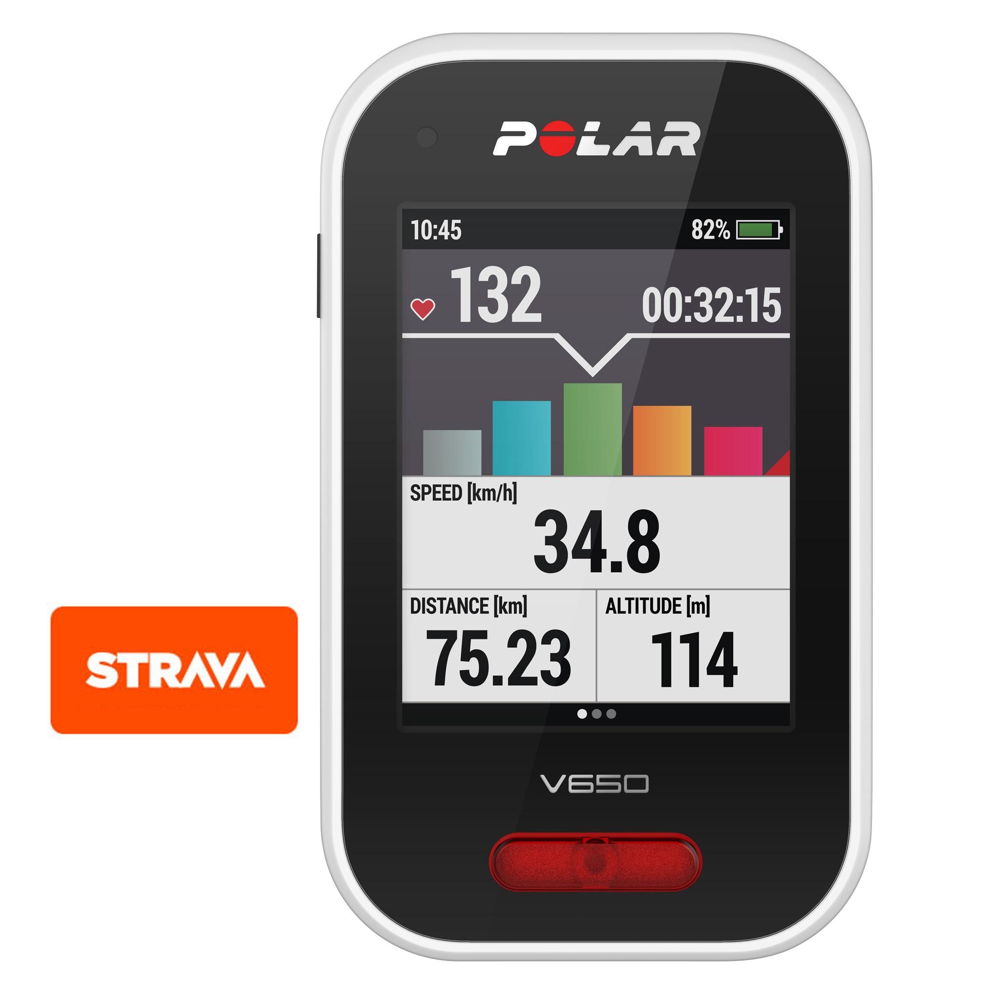 GPS POLAR V650 HR + Velocidad/Cadencia