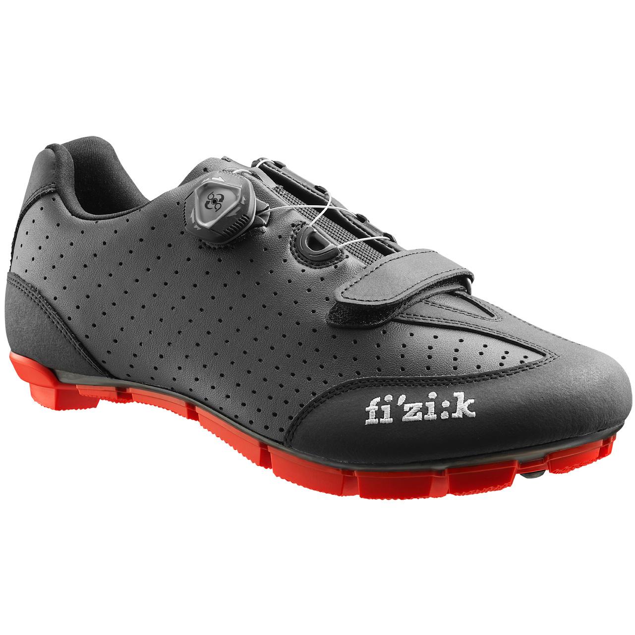 Zapatillas MTB FIZIK M3B Negro/Rojo 2016