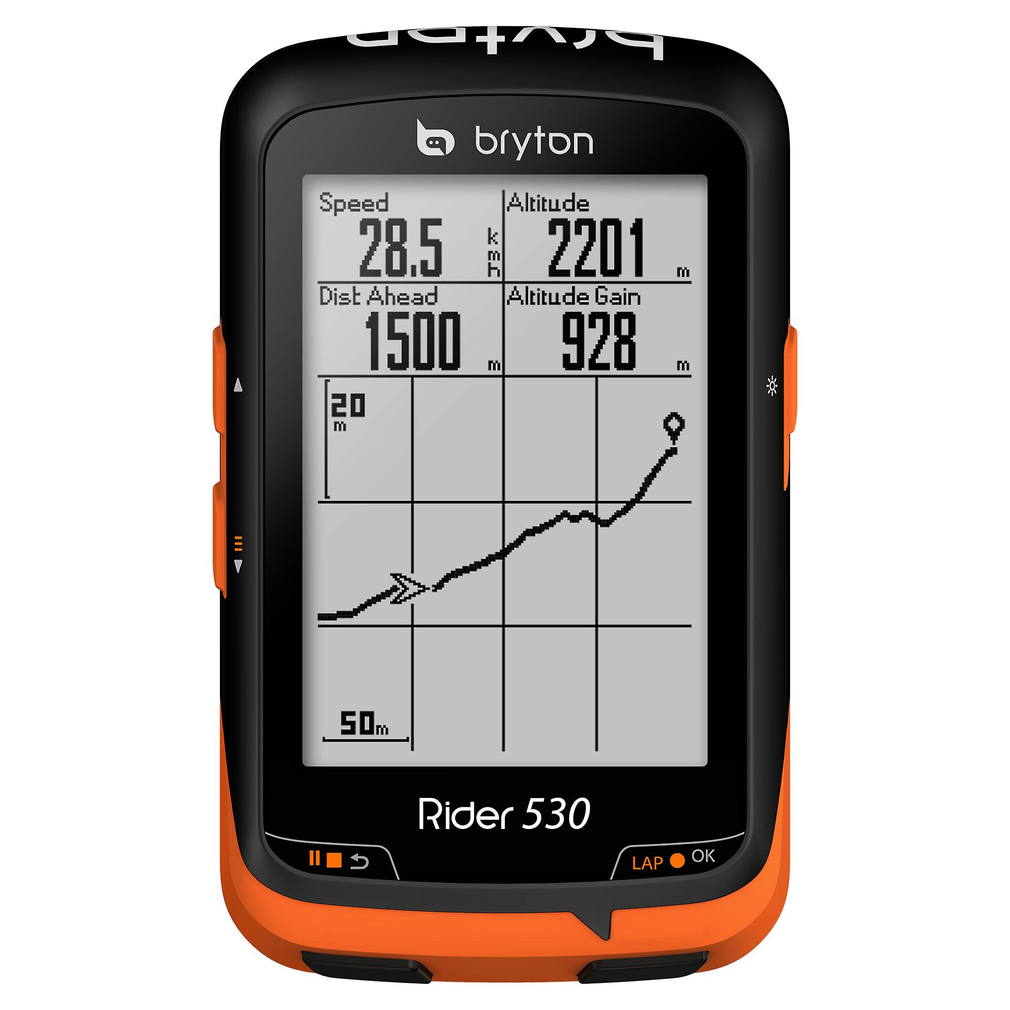 GPS BRYTON RIDER 530 T + HRM + Cadencia + Velocidad