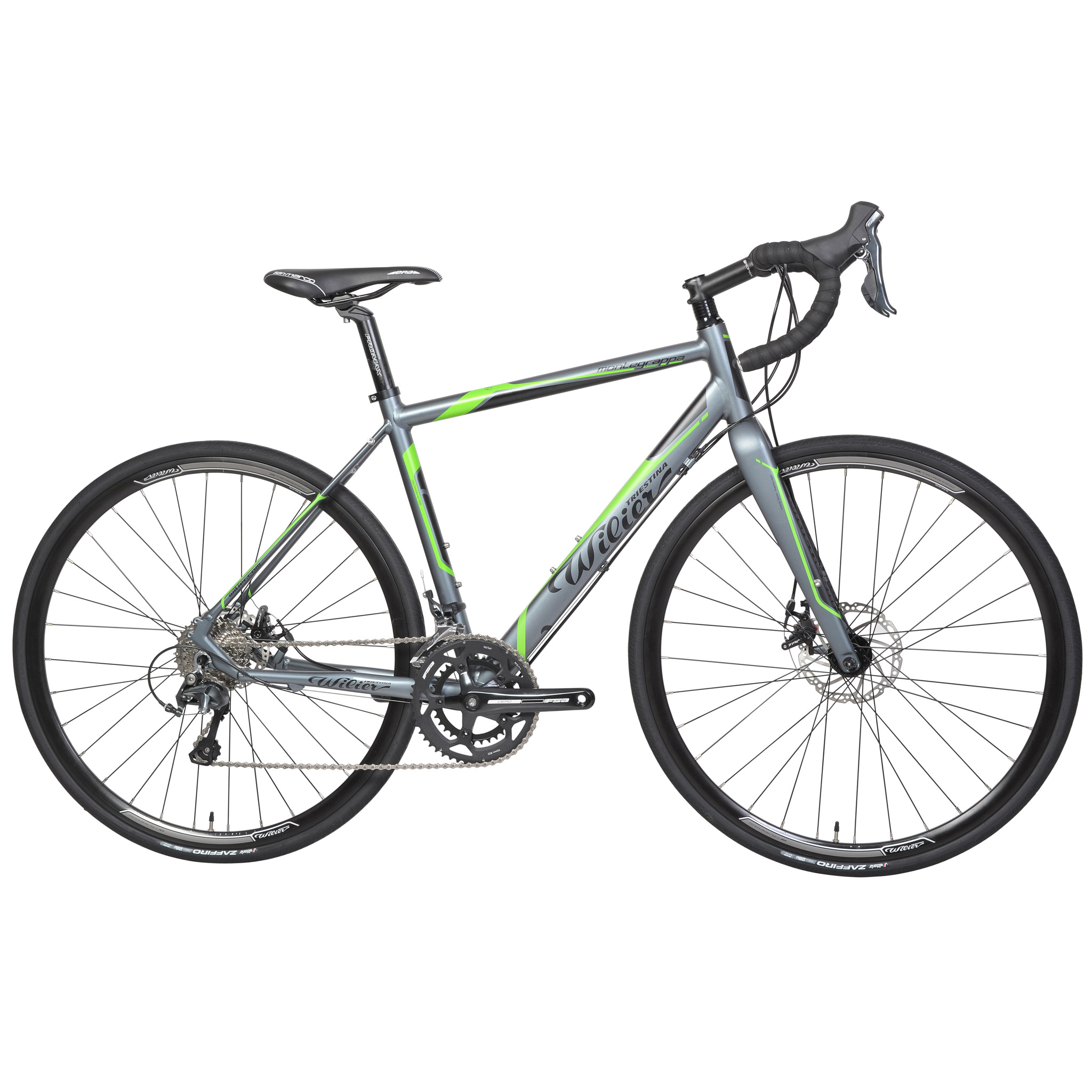 Bicicleta de carrera WILIER TRIESTINA MONTEGRAPPA DISC Shimano Tiagra 4700 34/50 2016