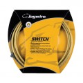JAGWIRE Kit Câbles et Gaines Freins SWITCH Or