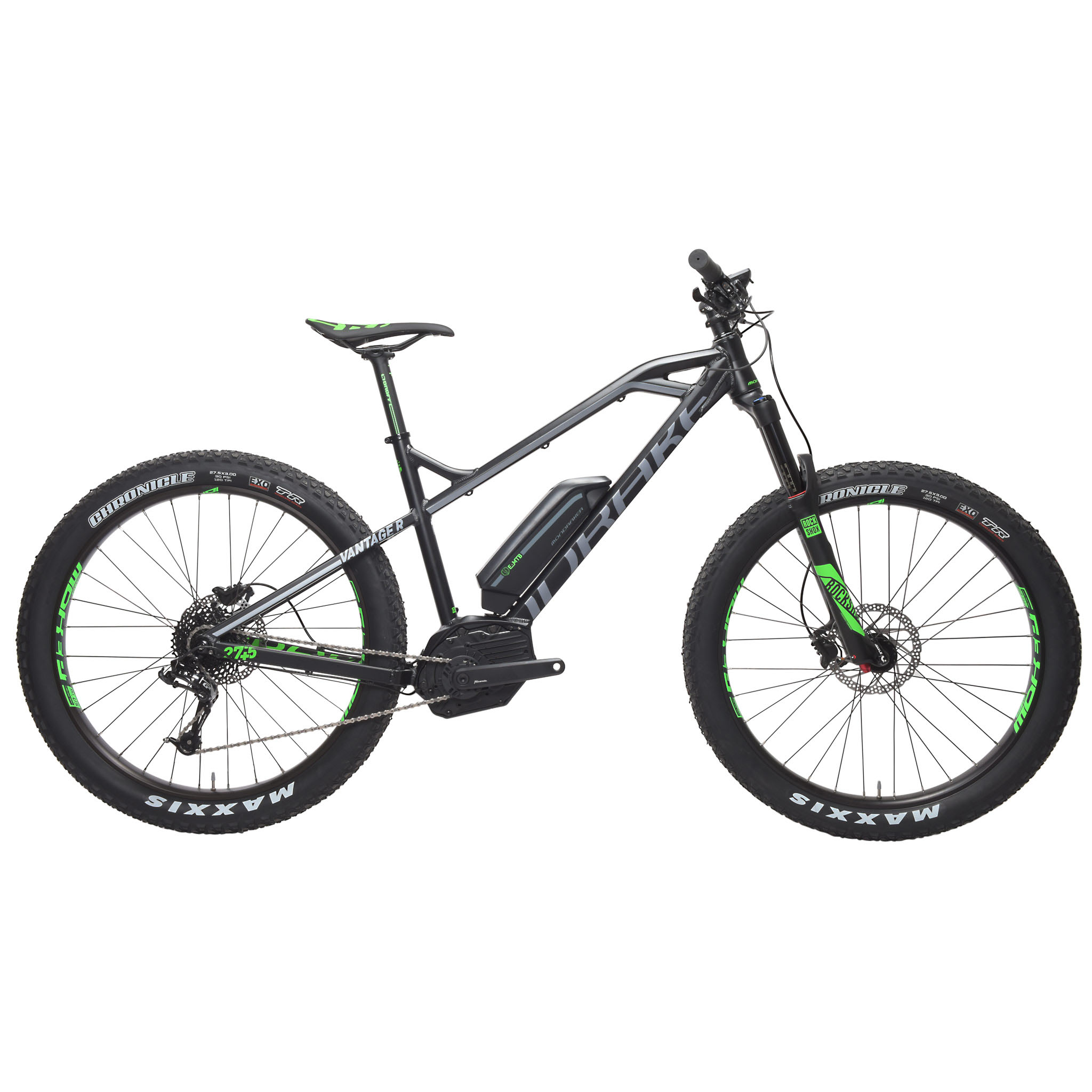 Mountain Bike eléctrica MONDRAKER E-VANTAGE R 27,5+ 400 Wh Negro/Gris 2016