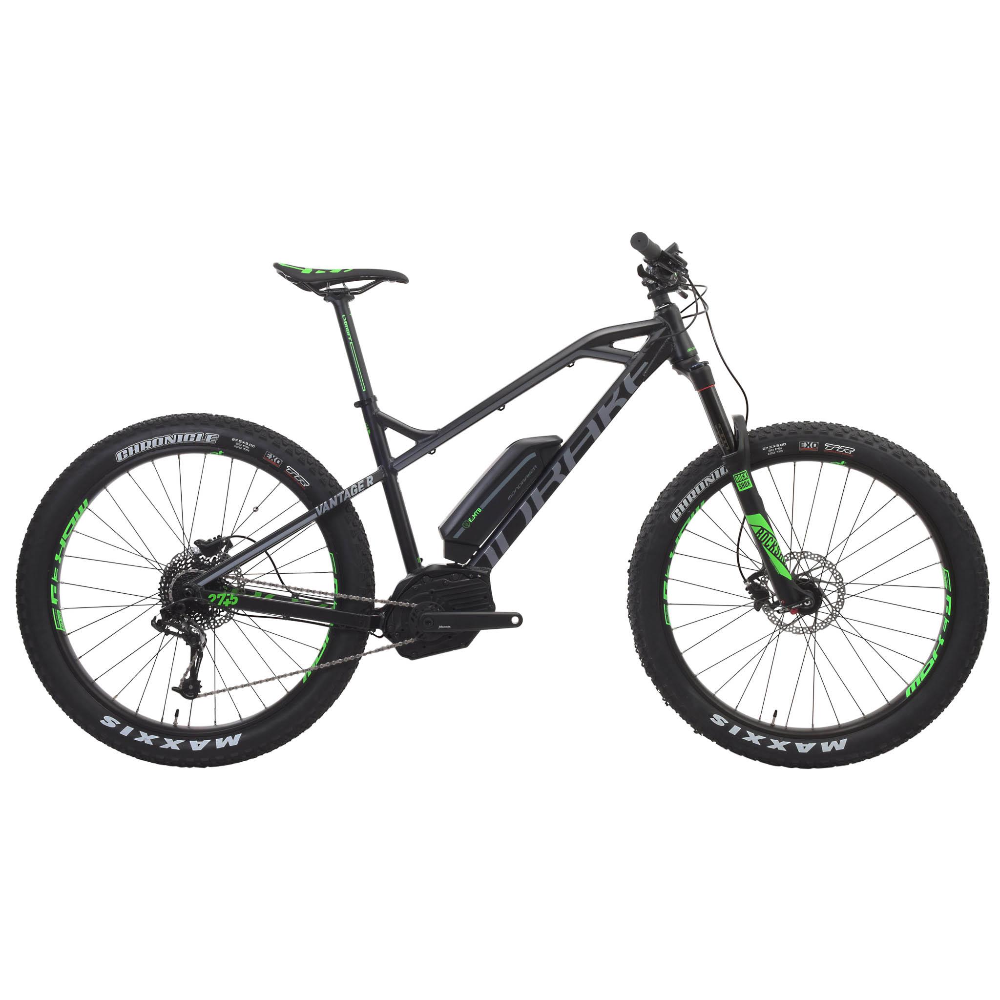 Mountain Bike eléctrica MONDRAKER E-VANTAGE R 27,5+ 500 Wh Negro/Gris 2016