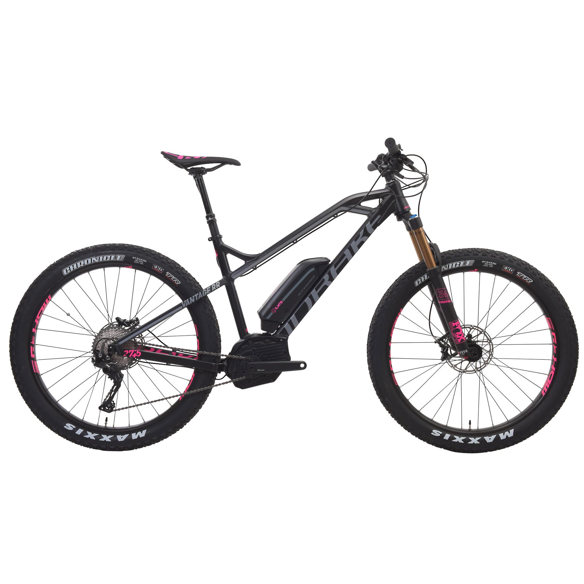 Mountain Bike eléctrica MONDRAKER E-VANTAGE RR 27,5+ 500 Wh Negro/Gris 2016