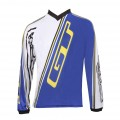 GT BICYCLES Maillot TEAM Bleu Blanc 2012